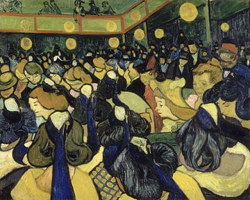 Tanzsaal in Arles, Vincent van Gogh von 1000 Schilderijen