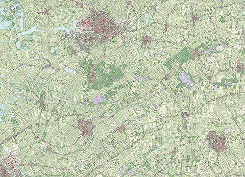 Kaart vanOpsterland