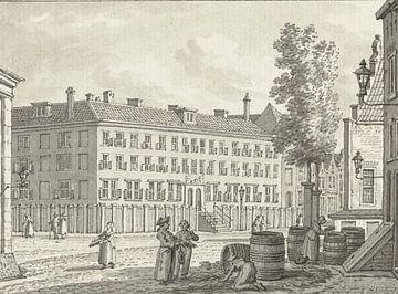 Das Armenhuis in Rotterdam, Jan Bulthuis, 1790