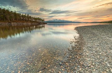 Meer Kallsjön - Järpen (Zweden) van Marcel Kerdijk
