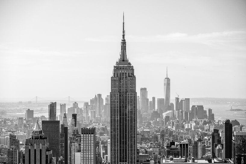 Empire State Building New York van Iwan Bronkhorst