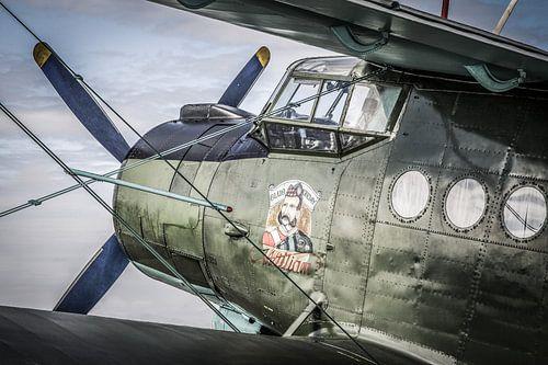 Oud vliegtuig van Jasper Scheffers