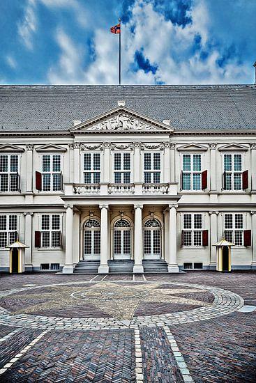 Paleis Noordeinde in Den Haag van Art by Jeronimo