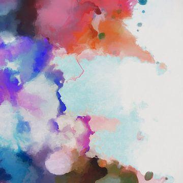 Abstrakte Komposition 1183 von Angel Estevez