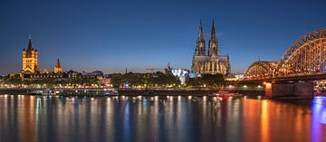 Köln Skyline von Achim Thomae