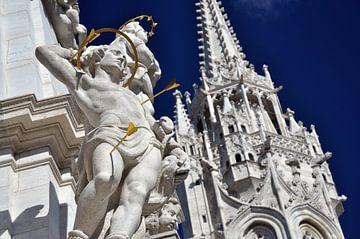Kerk in Boedapest sur Rogier Vermeulen