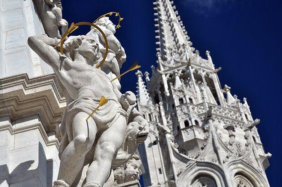 Kerk in Boedapest van Rogier Vermeulen