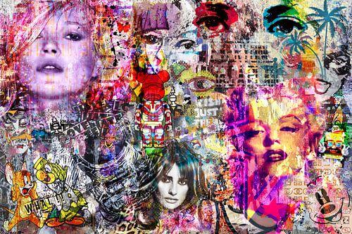 Streetart-Gesichter