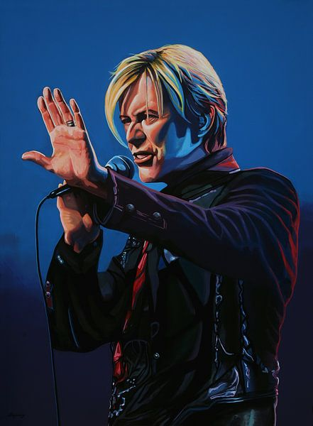 David Bowie schilderij van Paul Meijering
