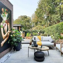 Kundenfoto: Her Secret Garden von Marja van den Hurk, auf leinwand