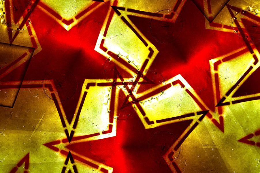 Russian red Star Mash-up 2 van Ernst van Voorst