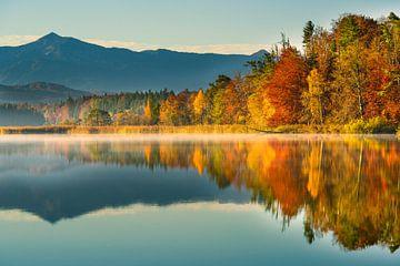 Herbstfarben am großen Ostersee von Denis Feiner