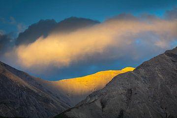 Sonnenuntergang in den nördlichen Rockies von Chris Stenger