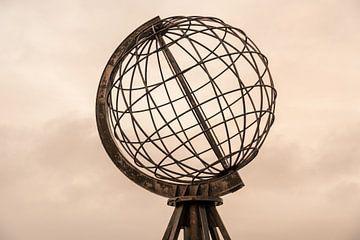 Noordkaap globe. van Axel Weidner