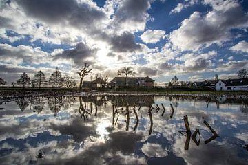 Spiegeltje, spiegeltje op het land van Ab Donker