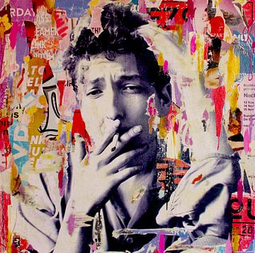 Bob Dylan sur Michiel Folkers