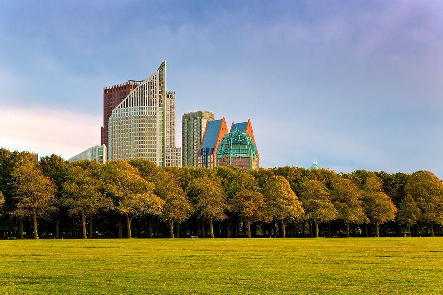 Hoge gebouwen in Den Haag