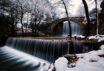 chutes d'hiver sur Konstantinos Lagos