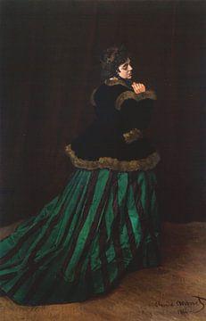 Camille, Claude Monet sur