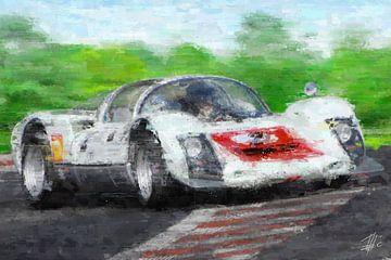 Porsche 906 Carrera von Theodor Decker
