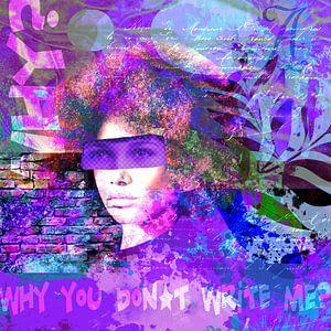 Why don't you write me? von christine b-b müller