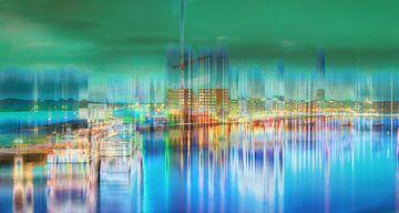 Amsterdam Hafen  von Tanja Riedel