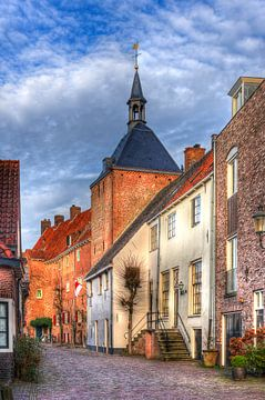 Muurhuizen Dieventoren historisch Amersfoort  sur Watze D. de Haan