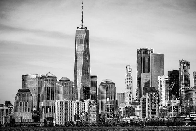 Skyline Lower Manhattan, New York City van Eddy Westdijk