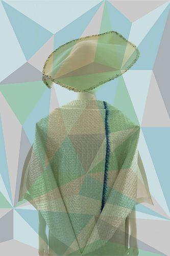 Lady in pattern