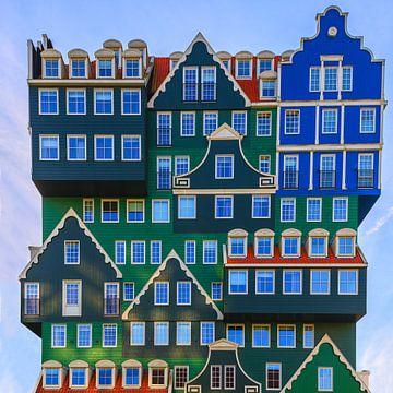 Inntel Hotel, Zaandam, Nederland van Henk Meijer Photography