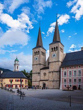 Place de l'église et du château à Berchtesgaden sur Rico Ködder