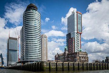 Kop van Zuid met Hotel New York Rotterdam van huub claessens