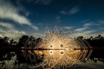 Lightpainting 8 von Eugene Klinkenberg