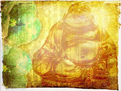 Golden Budda van