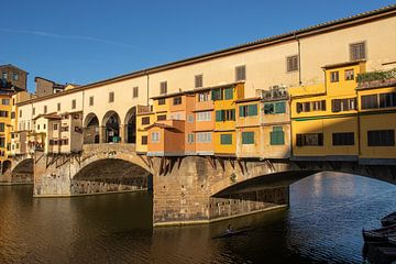 De kleurrijke Ponte Vecchio, Firenze van Nina Rotim