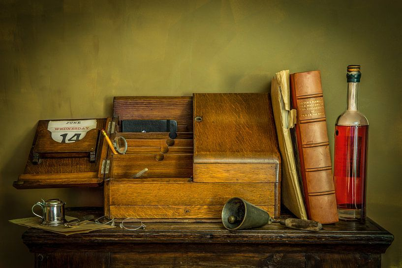 Stillleben nach dem Vorbild eines alten Meisters von Wout Kok