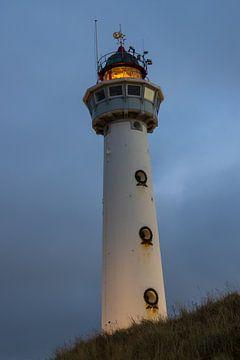 Vuurtoren Egmond aan Zee von Bert van Wijk