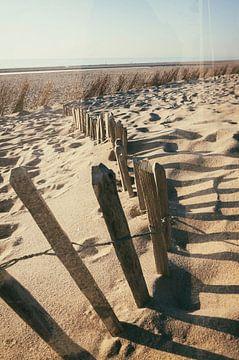 beach life, double exposure van Karin vanBijleveltFotografie