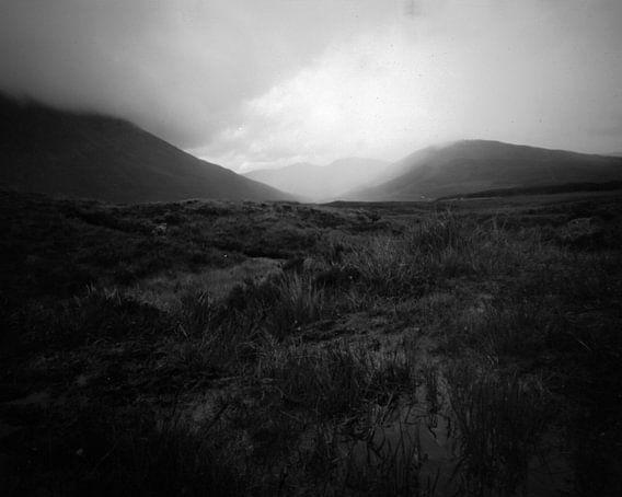 The fields of Bealach a Mhaim, Isle of Skye van Mark van Hattem