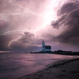 Thunderstorm at Marken van Roelie Steinmann