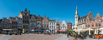Dendermonde Grote Markt van Werner Lerooy