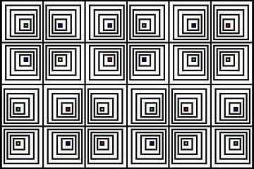 Genesteld | Offset | 06x04x2 | N=06 | V39 | RGBY van Gerhard Haberern