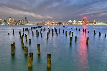 Hudson rivier uitzicht (2) van Peter Postmus