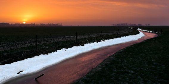 Winters dooilandschap
