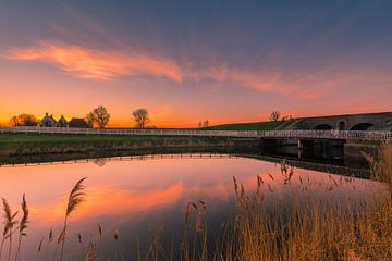 Aduarderzijl, Groningen, Netherlands von Henk Meijer Photography