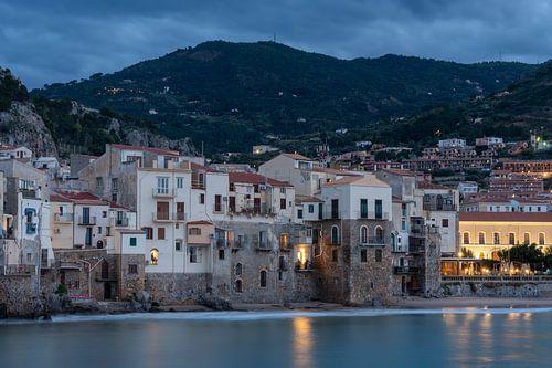 Cefalù op het eiland Sicilië