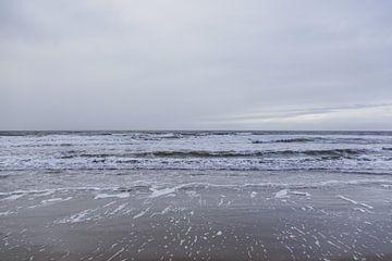 Zee en Golven van Dixy Kracht
