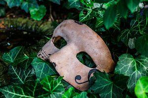 Masker met muzieknoten