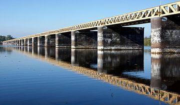 Spoorbrug Moerputten van PvdH Fotografie