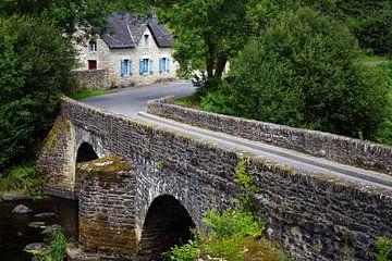 Die alte Brücke von Wim Frank